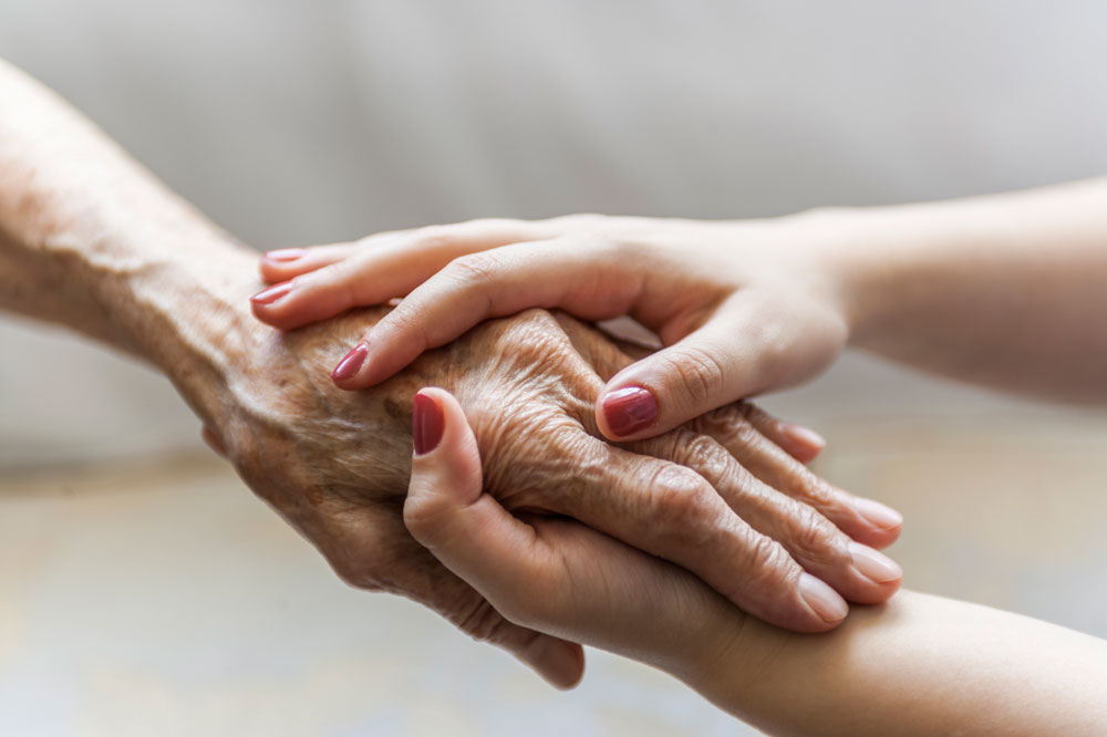 Palliative care is available at any time during a serious or life-threatening illness.
