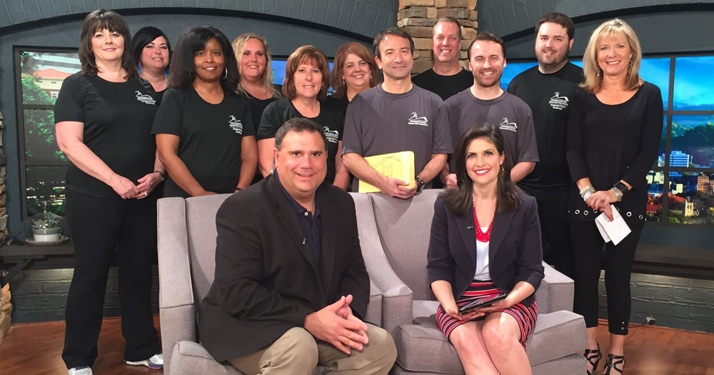 Members of the 2016 CHKM Corporate Challenge Team join WBIR show hosts Russell Biven and Beth Haynes to talk about the journey to personal fitness.