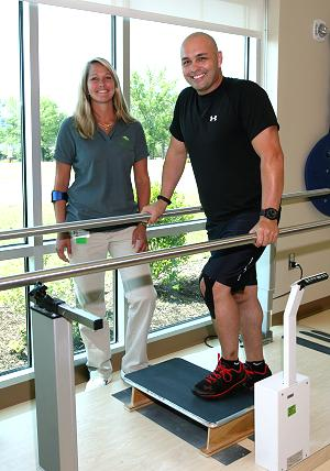 Physical therapy at LeConte Medical Center