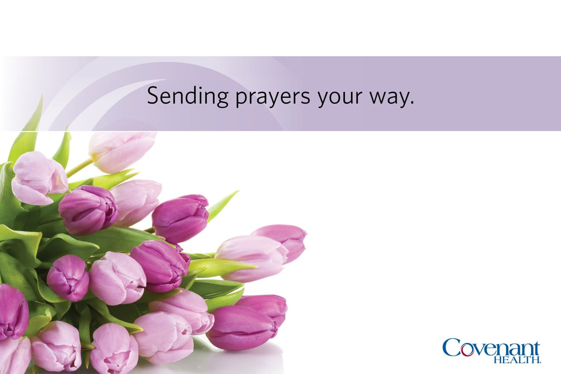Covenant Cards - Sending prayers your way