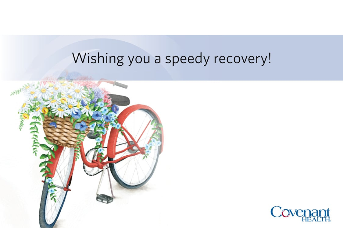 Covenant Cards - Wishing you a speedy recovery