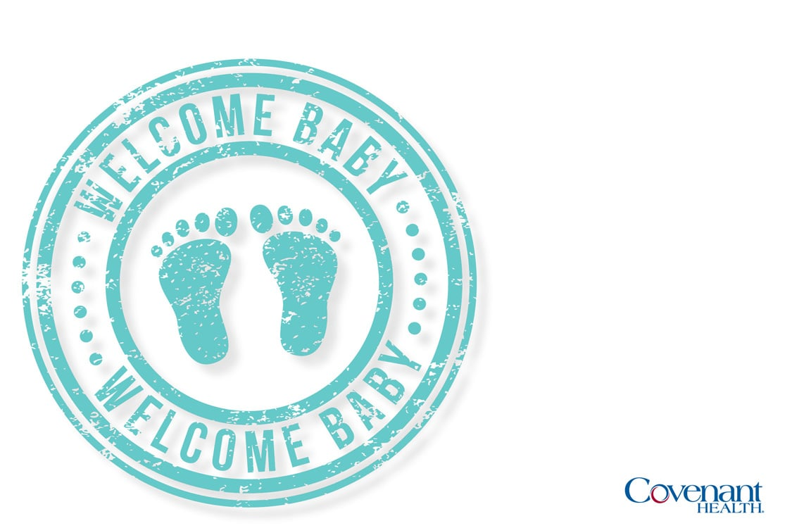 Covenant Cards - Welcome baby