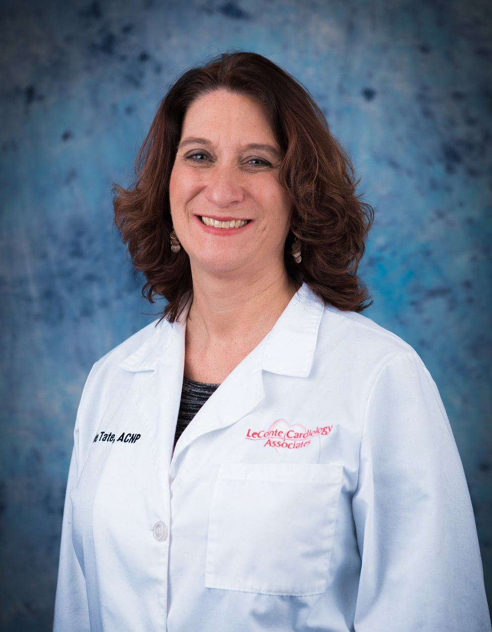 Lorrie Tate, NP of the heart care team at LeConte Cardiology Associates.