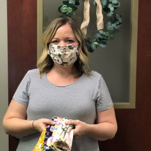 Amy O. of our Physician Services team donated handmade face masks for our dedicated Covenant Health frontline staff and coworkers. Thank you for your contribution, Amy!