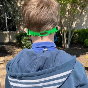 We are so grateful for 10-year-old Grayson Brown's donation of over 120 ear-saver mask bands for Methodist Medical Center, which he made on his home 3-D printer.