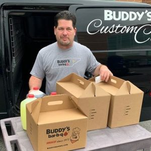 Thank you, to our friends at Advantage Innovations, Inc., who thoughtfully donated meals from Buddy's for the Parkwest Medical Center Environmental Services staff.