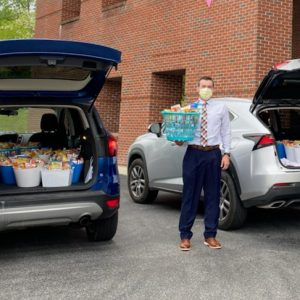 A HUGE thank you to Encompass Health and Caris Healthcare for delivering snack baskets for all the departments at Cumberland Medical Center! It was a bright spot for our team.
