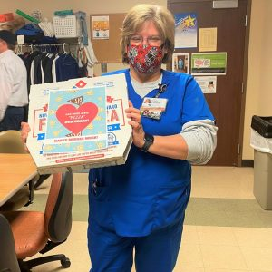 Domino's Pizza donated pizza to LeConte Medical Center employees as a thank you for their commitment to caring for our communities.