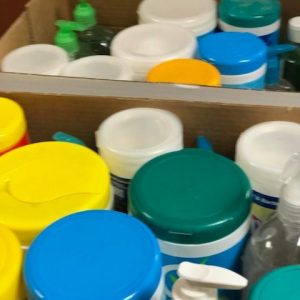 Thanks, Hardin Valley Elementary School for your thoughtful donation of hand sanitizer and cleaning wipes to Parkwest Medical Center.
