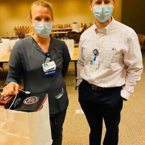WOW, Jimmy Johns knocked it out the park delivering over 450 boxed lunches for our employees at Methodist Medical Center! Sandwiches=SMILES (even if you can't see them under our masks!) Thanks Jimmy Johns for your generosity and thoughtfulness and for serving those who are serving our community!!