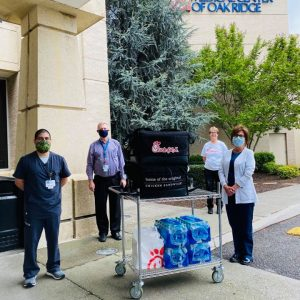 Thank you, Chik-fil-A, for recognizing the important role of our laboratory professionals with your delivery of meals for both the day and night teams at Methodist Medical Center.
