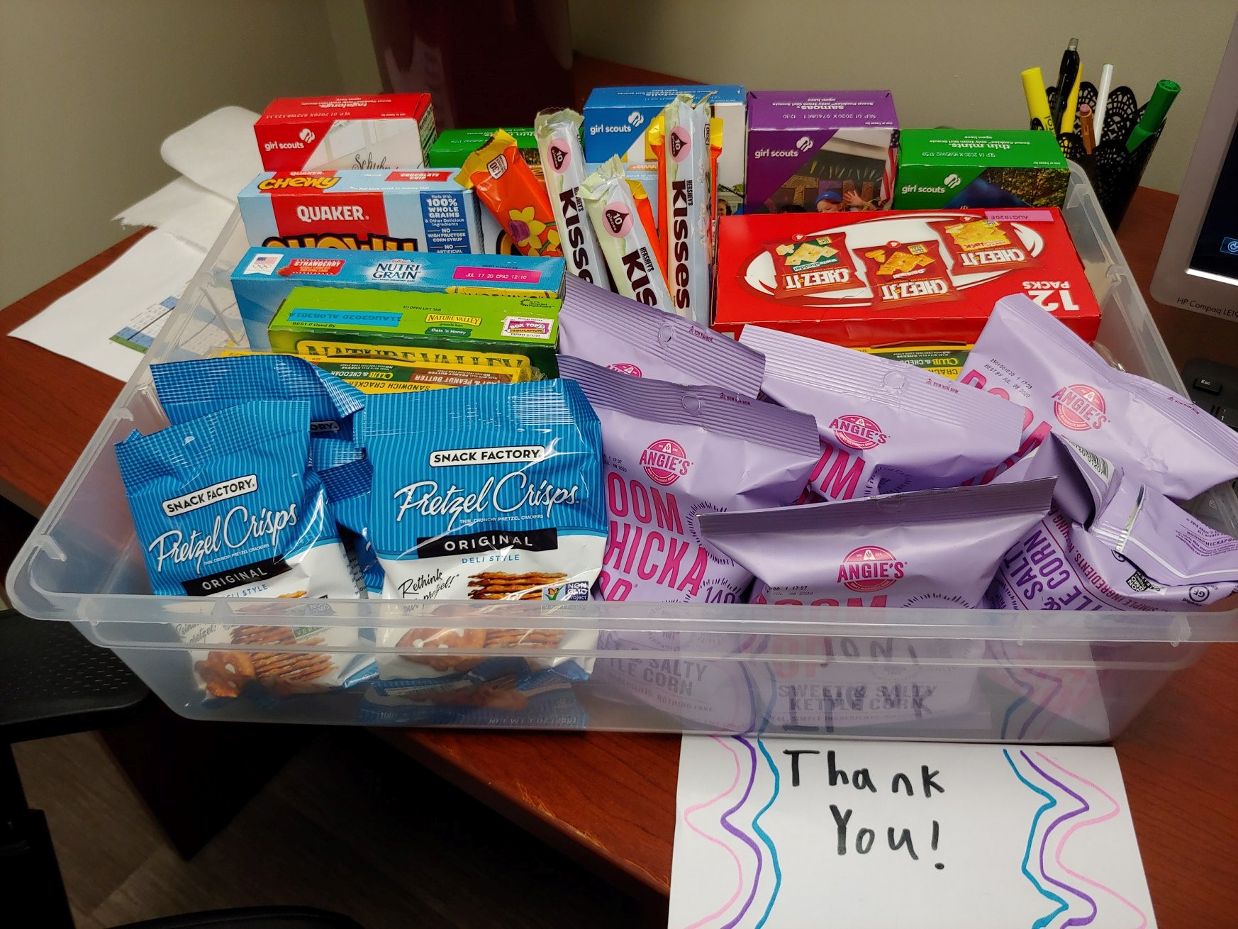 Thank you, Little River Service Unit Girl Scouts of Blount County for appreciating our healthcare workers by donating boxes of amazing snacks to our team at Peninsula Hospital.