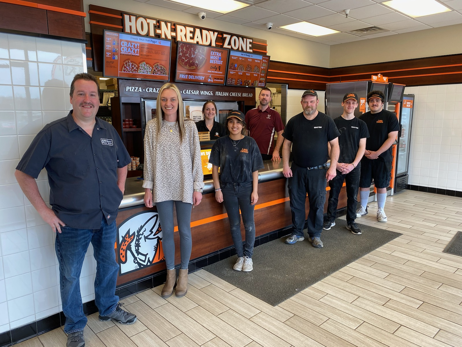 Little Caesars Pizza of Crossville showed their support with a thoughtful and delicious delivery of pizza for the Cumberland Medical Center Emergency Department.