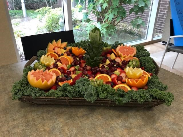 Thank you, Morning Pointe of Lenoir City, for delivering a lovely fruit display and cupcakes for staff at Fort Loudoun Medical Center.