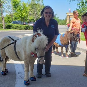 Community Parade stopped by with special visitors from Shangri-La Therapeutic Academy of Riding to offer a heart-lifting break for the staff at Fort Loudoun Medical Center.