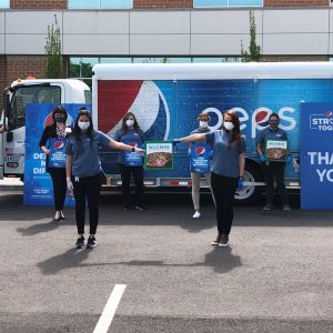 Thank you to Pepsi and Marco's Pizza for providing lunch and drinks for the entire Parkwest Medical Center staff during hospital week.