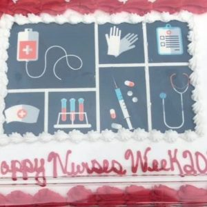 Thank you Sam's Club West for your donation of beautiful Nurses Week cakes to Parkwest Medical Center.