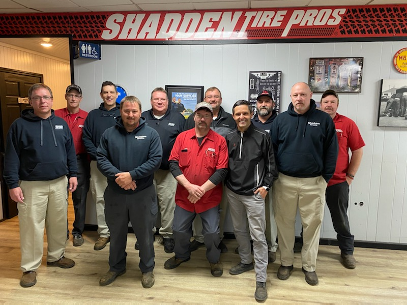 Special thanks to Shadden Tire Company Tire Pros for providing Cumberland Medical Center staff 300 delicious BBQ lunches. Your love and support are a blessing.