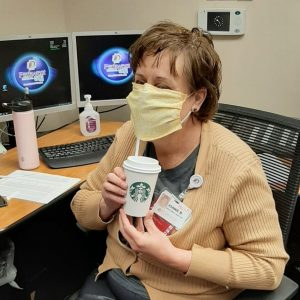 Thank you, Starbucks, for the inspirational notes and morning pick-me-up for the Parkwest Medical Center staff. You really know how to keep the team going.