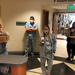 Thank you to Starbucks, for their amazing donation that was enjoyed by the staff throughout Parkwest Medical Center.