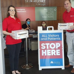 Thank you for your support, Weigels, and for surprising Fort Loudoun Medical Center staff with donuts for breakfast and pizza for lunch.