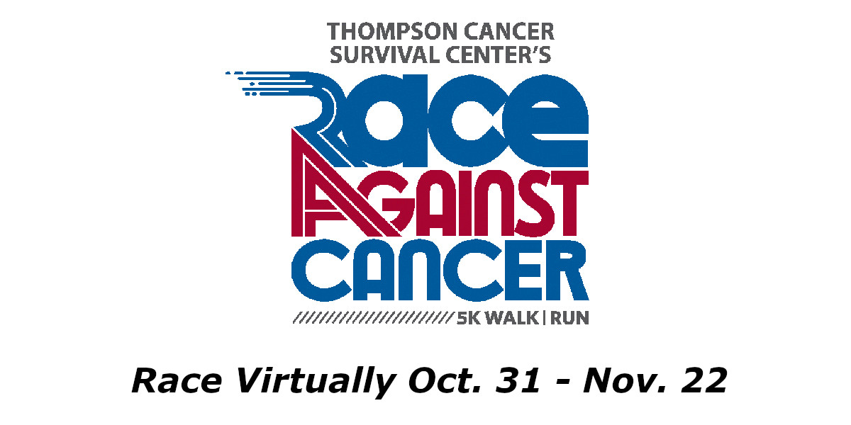 Race Against Cancer Logo with 2020 dates